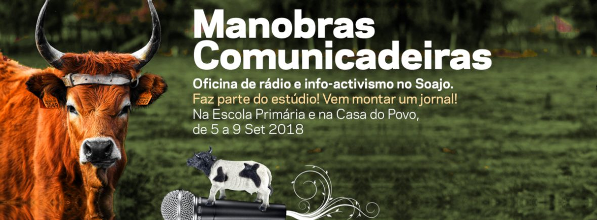 Manobras Comunicadeiras: oficina de rádio e info-activismo
